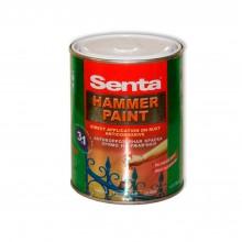 Краска гладкая антикоррозийная  SENTA HAMMER PAINT 0.75 л.