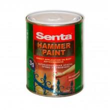 Краска молотковая антикоррозийная  SENTA HAMMER PAINT 0.75 л.