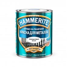 Краска по металлу полуматовая гладкая HAMMERITE 0.75 л.